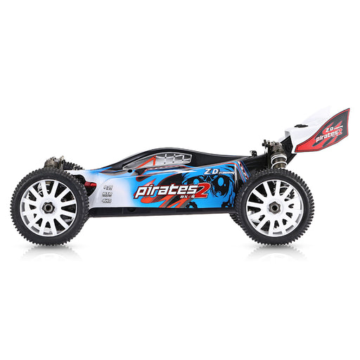 ZD Racing 9072 1/8 4WD 70KM/H RC Brushless Electric Vehicle Short Course Truck - RTR Version - stirlingkit