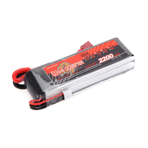 11.1V 2200mAh 30C 3S T-plug Battery for RC Boat and Car Methanol Engine Model Gasoline Engine Blaster - stirlingkit