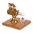 Mini Balance Type Stirling Engine Model with Quartz Hot Cylinder - stirlingkit