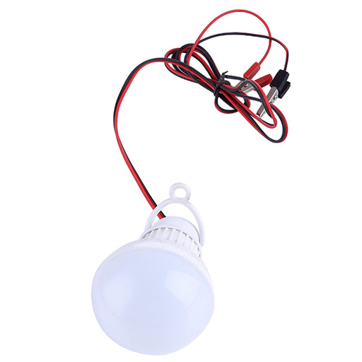 12V 5W LED Bulb Replacement Bulb with Wiring and Clamp for Stirling Generator - stirlingkit