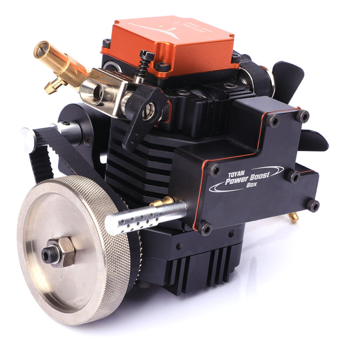 4 Stroke RC Engine Methanol Engine Model Kit for RC Car Boat Airplane - Toyan FS-S100 - stirlingkit