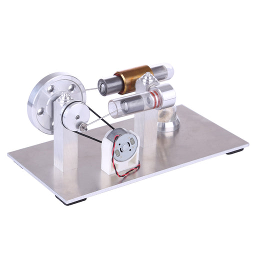 Stirling Engine Kit Quartz Edition Education Model Kit DIY Steam STEM Toy - stirlingkit