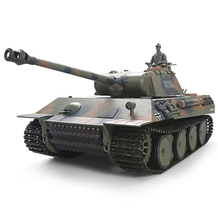 1:16 German Leopard Heavy 2.4G RC Military Tank Model with Sound Smoke Shooting Effect - stirlingkit