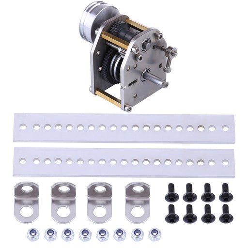 1:10 Model Car Engine Gearbox with Pulley Rack and Screw Glue for Toyan FS-S100 FS-S100G FS-S100(W) FS-S100G(W) - stirlingkit