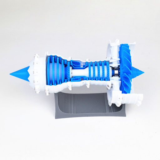 3D Printed Aero Engine Model Turbofan Jet Engine Model DIY Stem Engine Toy - Ordinary Static Type - stirlingkit
