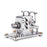 Metal Balance Stirling Engine Model Generator Micro External Combustion Engine Model - stirlingkit