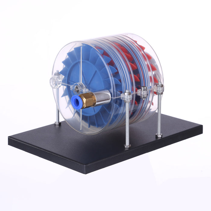 Multi Stage Steam Turbine Model Physics Equipment Demonstration Educational Toys - stirlingkit