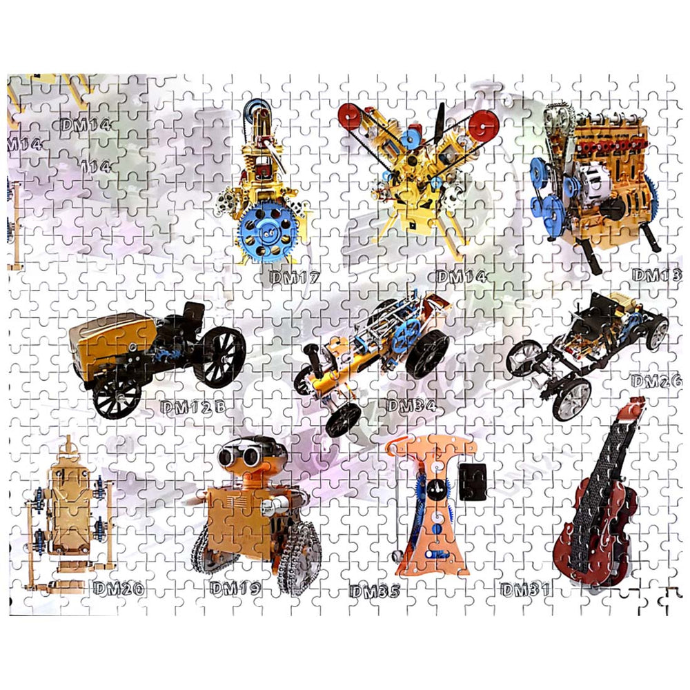(Black Friday FREE GIFT ) Random order of Brand Teching , Get one of this puzzle as gift (value $29.99) - stirlingkit