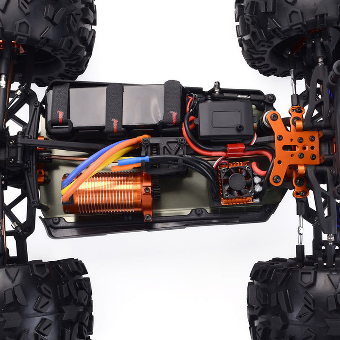ZD Racing MT8 Pirates3 1/8 2.4G 4WD 90km/h Brushless Motor RC Car Monster Off-road Truck - stirlingkit