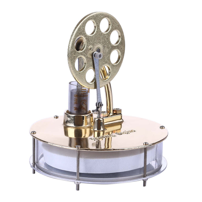 Low Temperature Stirling Engine Kit Golden Stirling Engine Model - stirlingkit