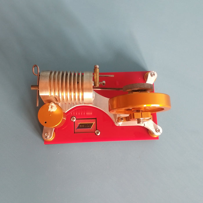 Suction Fire Type Stirling Engine Model Hot Air Stirling Model - stirlingkit