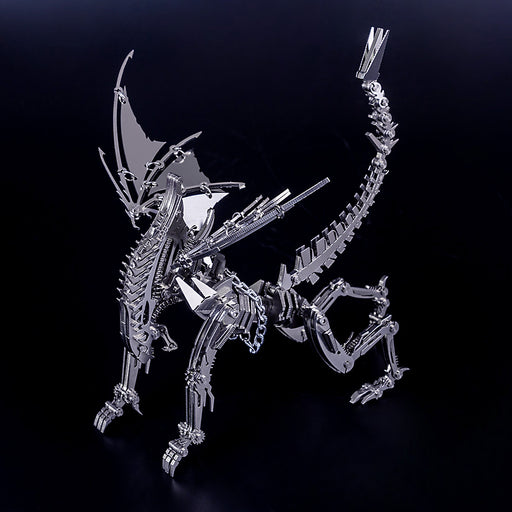 DIY Stainless Steel Metal Puzzle Model Kit Assembly Crafts - Winged Beast - stirlingkit