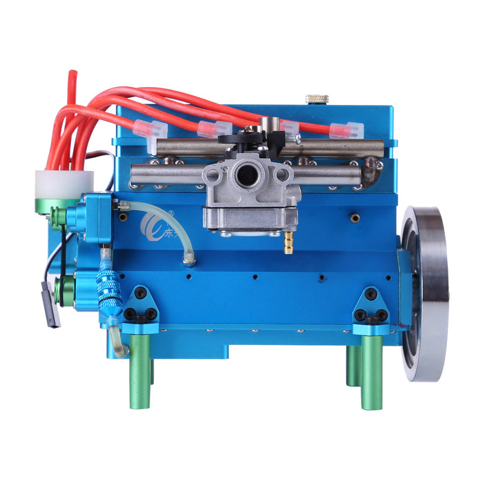 32cc Four-cylinder In-line Water-cooled Gasoline Engine for RC Car Ship