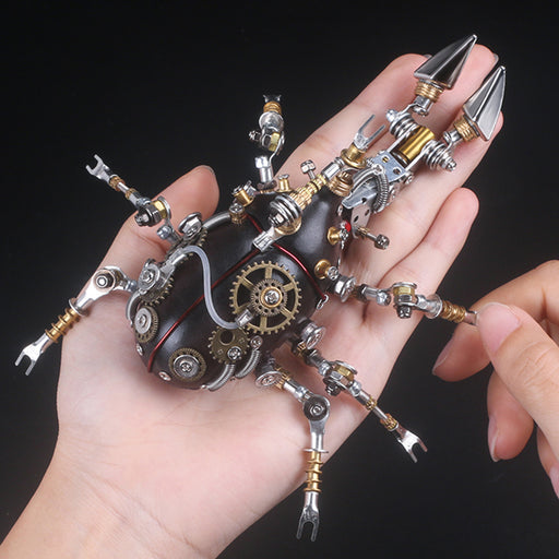 324Pcs Metal Insect Puzzle Model Kit 3D DIY Mechanical Assembly Jigsaw Crafts - Unicorn - stirlingkit