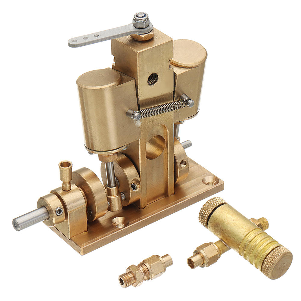 Twin Cylinder Steam Engine Model Gift Physical Law Toy DIY Project Part M36 - stirlingkit