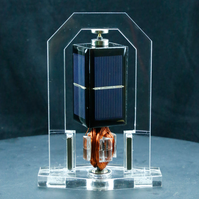 Vertical Solar Magnetic Levitation Model Levitating Mendocino Motor Educational Model - stirlingkit