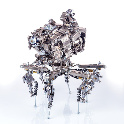 DIY Metal Mechanical Explorer 3D Assembly Puzzle Model Kit - stirlingkit