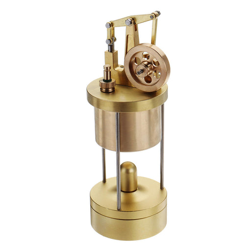 Mini Pure Copper Verticle Full Metal BEAM Steam Engine Model M88 - stirlingkit