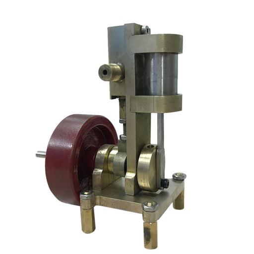 Mini Vertical-type Steam Engine Model Without Boiler - stirlingkit