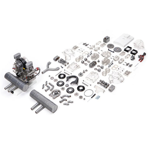 Flat-Four Boxer Engine Model 1:3 Visible Four-cylinder DIY Car Engine Model - stirlingkit