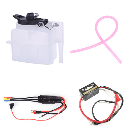 TOYAN FS-S100AT Engine Starter Kit Acessories (CDI Igniter + ESC + Oil Tank + Tubing) - stirlingkit