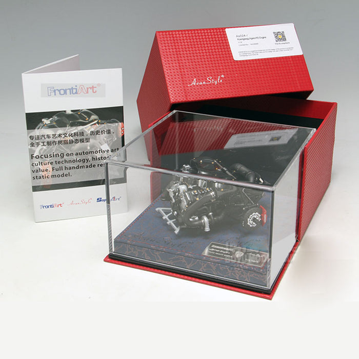 Frontiart FA 1:18 Agera RS Engine Model Resin Engine - Collector Edition (Finished Version) - stirlingkit