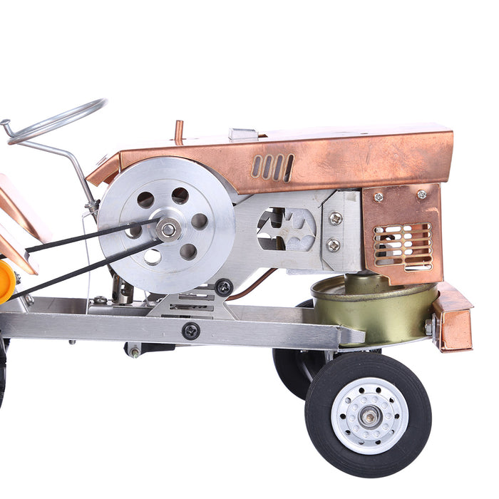 Stirling Engine Kit Alcohol Powered Tractor Shape Suction fire Engine Model For Gifts Collection - stirlingkit