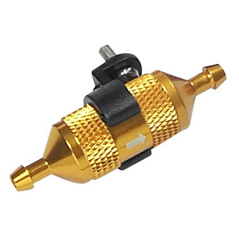Aluminium Alloy Fuel Filter Compatible with Toyan Engine for 1:8 1:10 Gas Powered Model Car - Random Color - stirlingkit