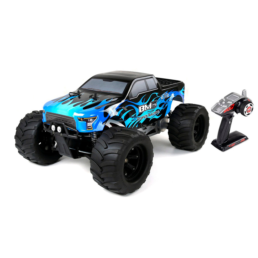 Rovan BM5 1/5 RC Model Car Gas Engines 4WD Big Foot Truck - RTR Version - stirlingkit