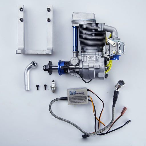 ngh GF38 38cc Single Cylinder Four Stroke Air Cooled Gasoline Engine for Fixed Wing Drone - stirlingkit