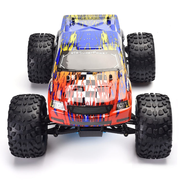 HSP 94188 1/10 RC Remote Control Nitro Gas Powered Monster Truck 4WD W/VX18 Engine - stirlingkit