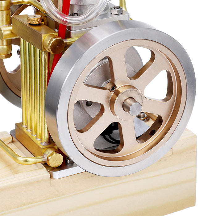 Vertical Hit & Miss Gas Engine Stirling Engine Model Upgraded Version Water Cooling Cycle Engine Collection - stirlingkit