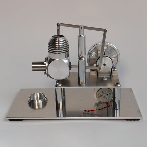 Hot Air Stirling Engine Metal Balance Stirling Engine Model Micro Generator Model - stirlingkit