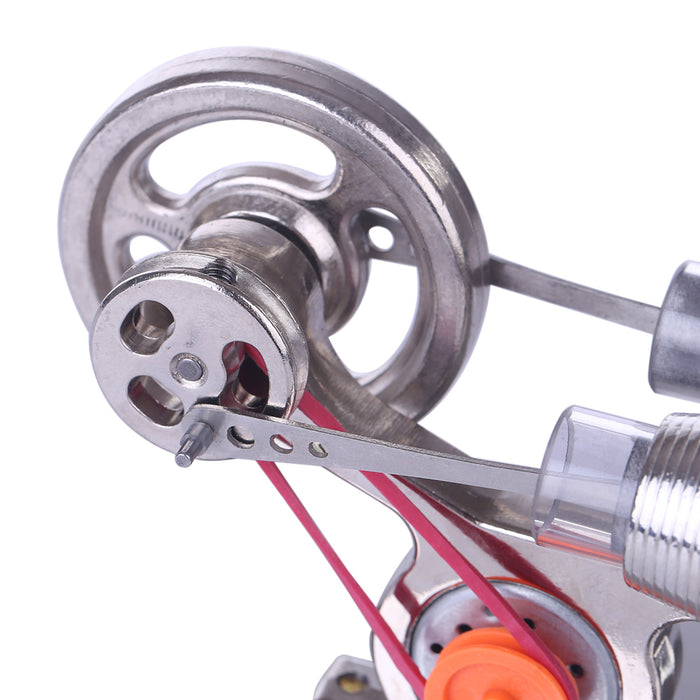 Stirling Engine Kit Model Stainless Steel Developmental Science Toy Motor Engine - stirlingkit