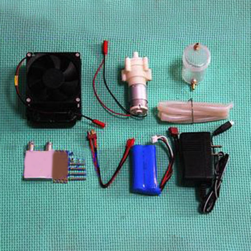 Level 15 Methanol Engine Gas Powered Model Car Water-cooled Cooling Accessories Kit (Only Water Cooling Accessories, No engine) - stirlingkit