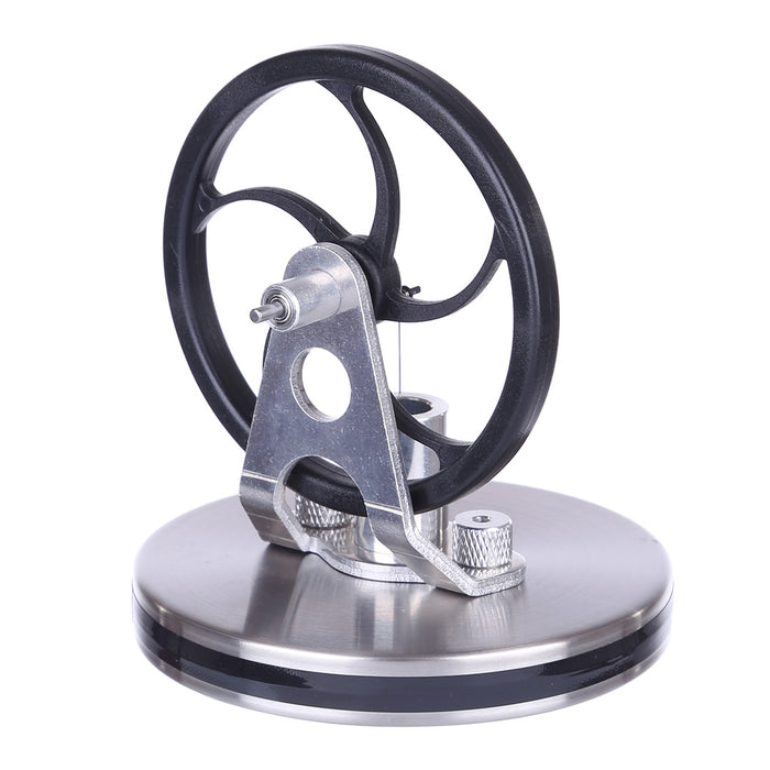 Low Temperature Difference Stirling Engine Black Magnetic Coffee Stirling Toy Gift Decor Collection - stirlingkit