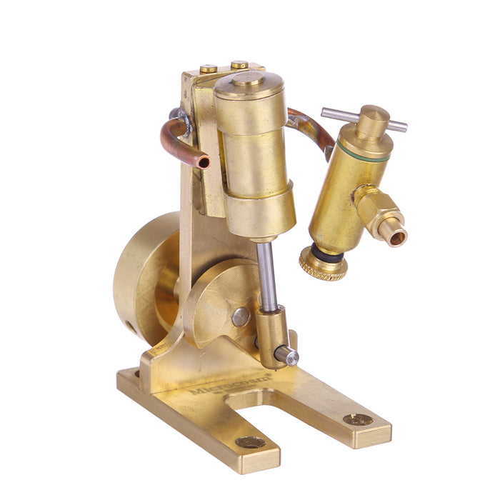 Microcosm Micro Scale M1 Single Cylinder Steam Engine Model Full Matel Modle - stirlingkit