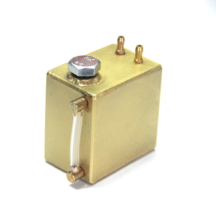 110ml Metal Mini Fuel Tank with Oil Level Display for Gasoline RC Cars Engine Model - stirlingkit