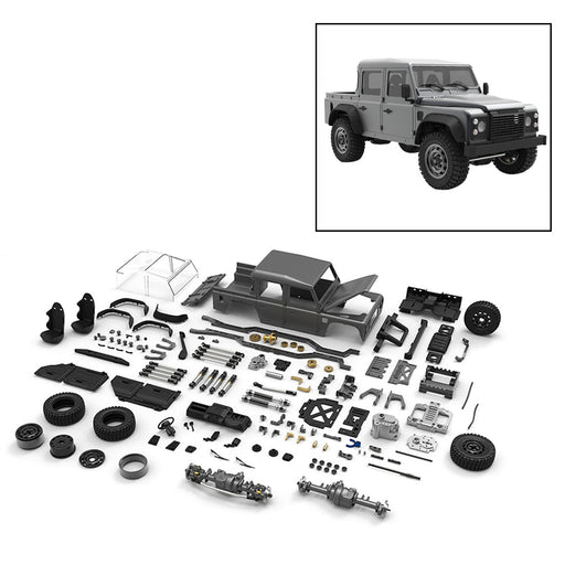 Capo CUB1 1/18 Assembly 4WD Electric RC Offroad Vehicle Crawler Pickup Truck Model with Differential Loc KIT - stirlingkit