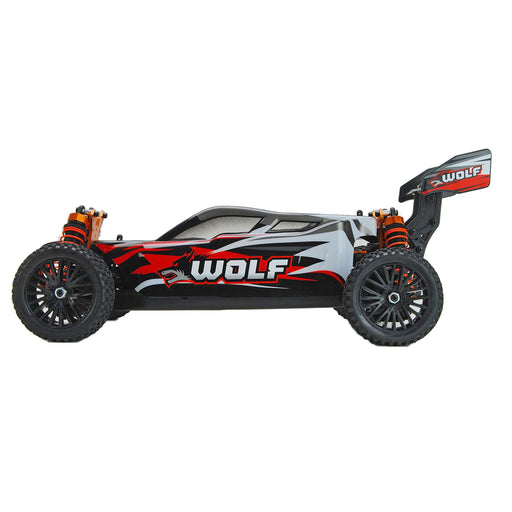 DHK 8133 WOLF 1/10 4WD 40km/h 60A Brushed Off-road Vehicle 4WD RC Car - stirlingkit