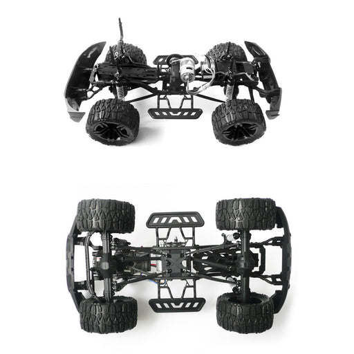 HG-P401 1/10 2.4G 20+ KM/H RC Climbing Car 4WD Off-road Vehicle Bigfoot Truck - stirlingkit