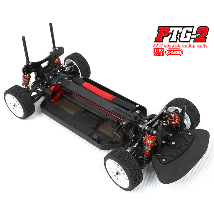 LC Racing PTG-2 1/10 Electric RC Car Model without Electronic Equipment & Car Shell - Stirlingkit