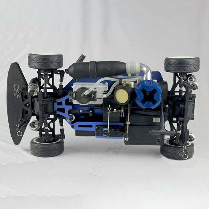 VRX RH1003 1/10 2.4GHz 4WD Wireless RC Car Nitro RTR Vehicle with Force.18 Methanol Engine - stirlingkit