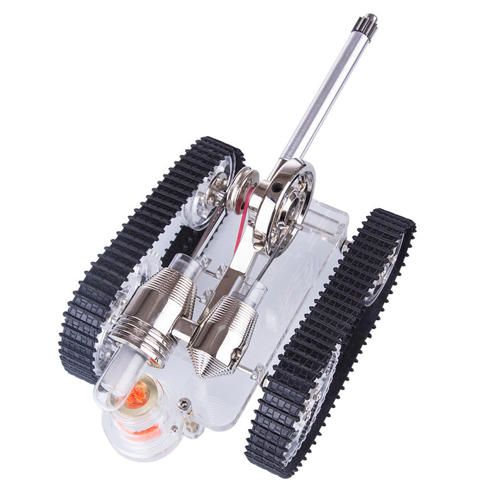 Stirling Engine Model Metal Tank Stirling Engine Motor Model External Combustion Engine - stirlingkit