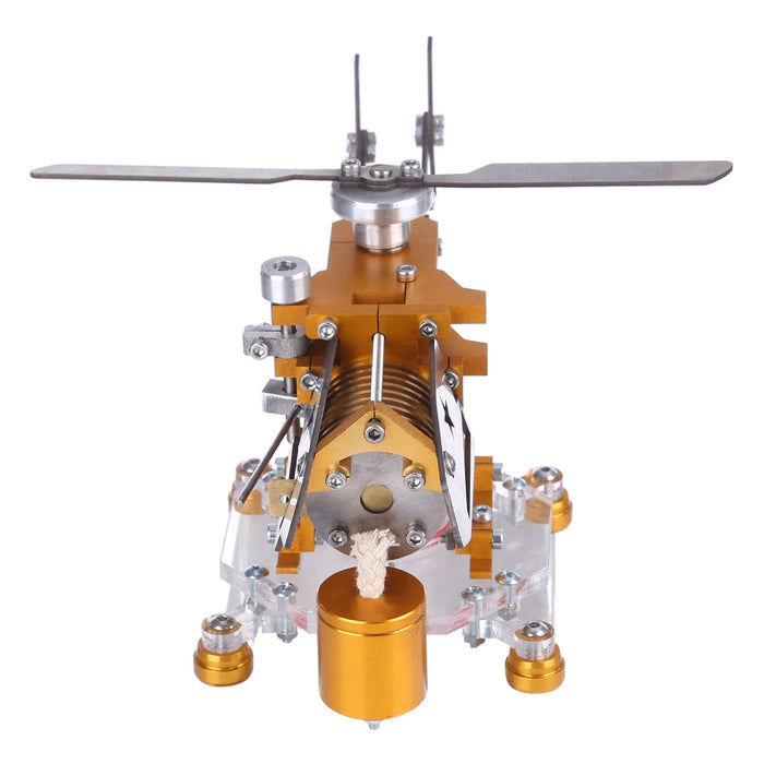 Stirling Engine Model Transport Helicopter Design Model Science Metal Stirling Engine School Educational Equipment Supply - stirlingkit