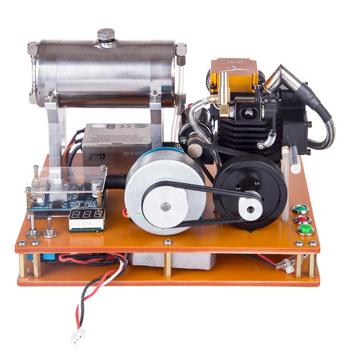 TOYAN 4 stroke Gasoline Engine DIY 12V Electric Generator Science Education Laboratory Engine - stirlingkit