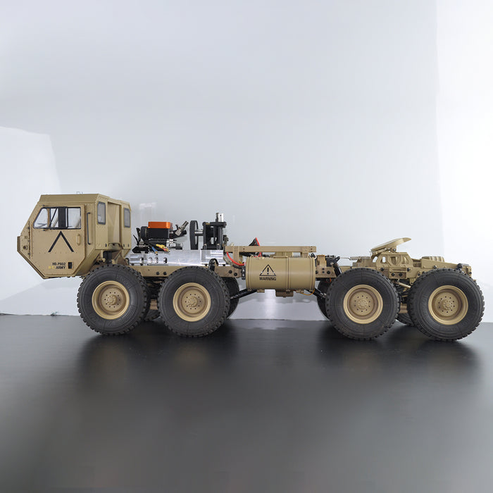 Toyan 1:12 8x8 R/C 2.4G High Horse Horsepower Methanol Gas Powered Military Truck Off-road Vehicle - stirlingkit