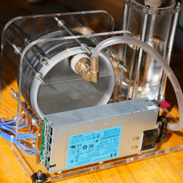 Electrolysis of Water Generator Heating Process Principle Science Physical Experiment Teaching Model High Efficiency Lager Size - stirlingkit