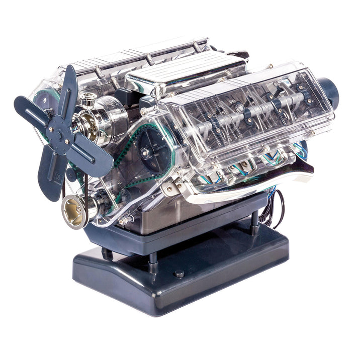 VISIBLE V8 Internal Combustion OHC Engine Motor Working Model Haynes Kit - stirlingkit
