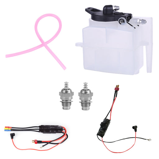 Starter Kit for TOYAN FS-L200 Engine (Glow Plug + Ignition Module + ESC + Oil Tank + Tubing) - stirlingkit